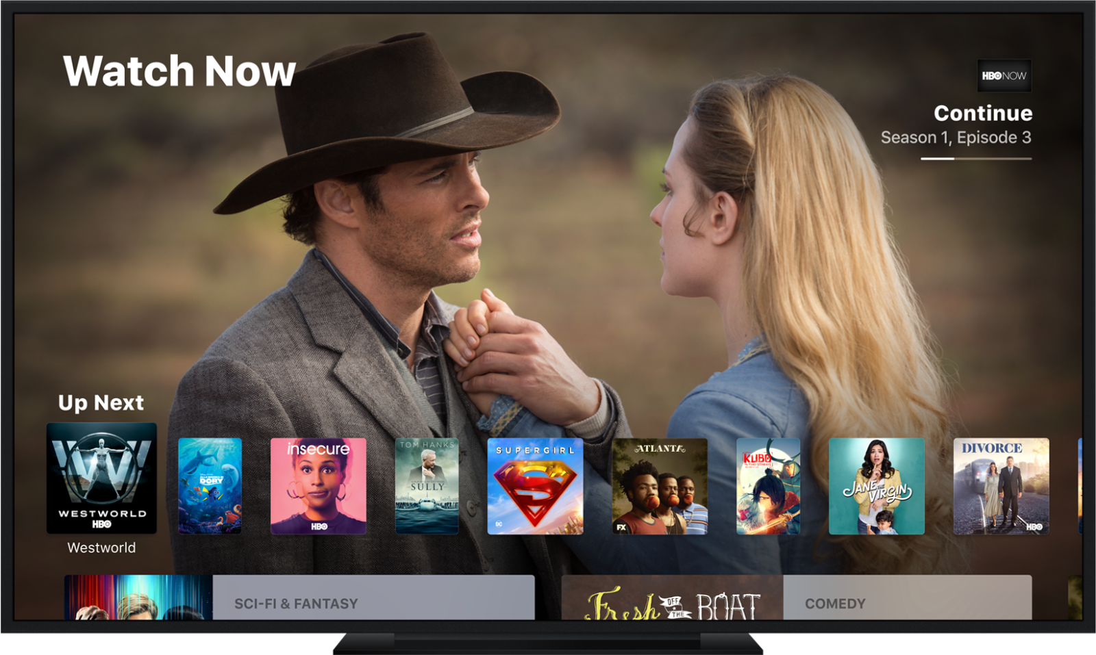 Apple TV 国内观看 Netflix/HBO